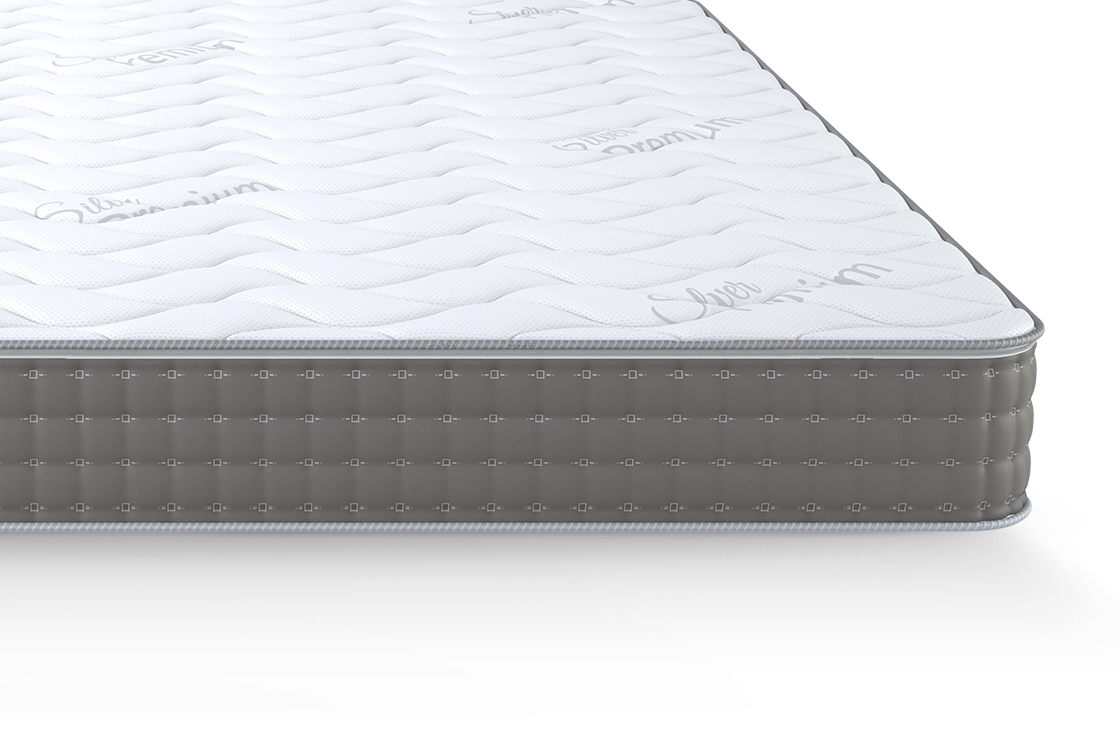 Silver Plus-front-cut-mattress